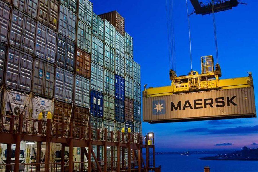 Maersk Internet of things oplossing