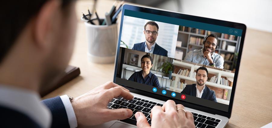Future of work - online meetings