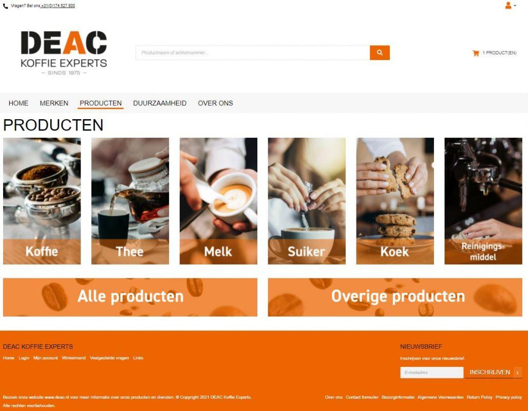 DEAC, koffie experts