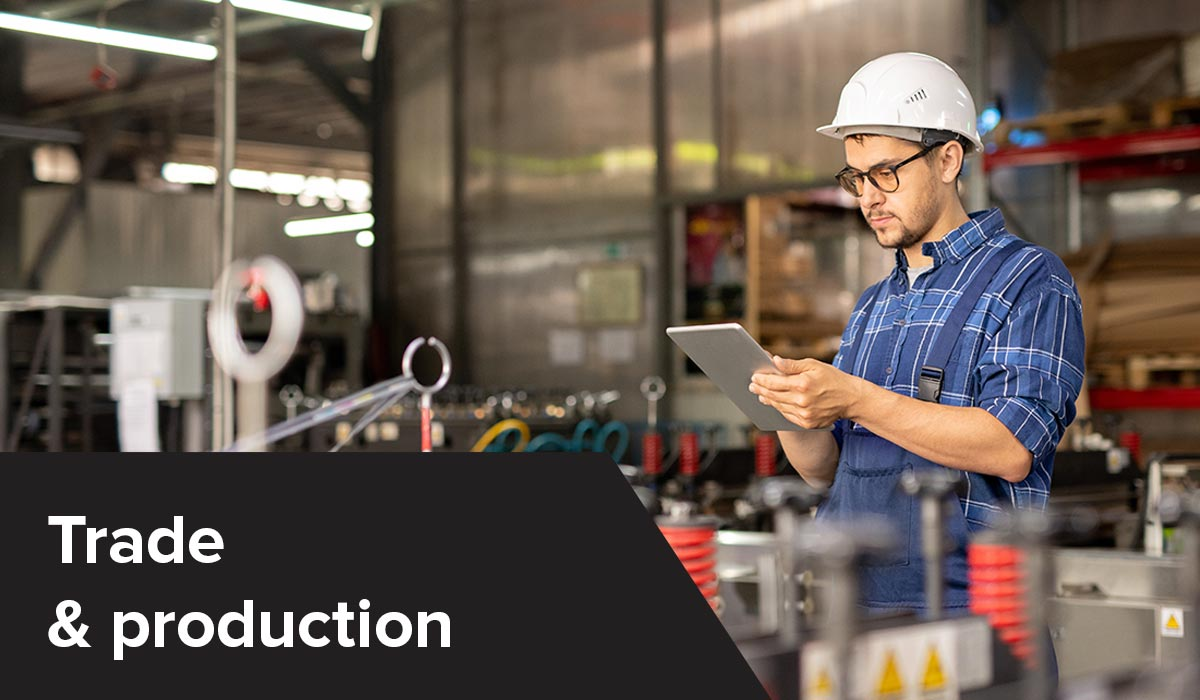 Trade & production industrie - Business applications